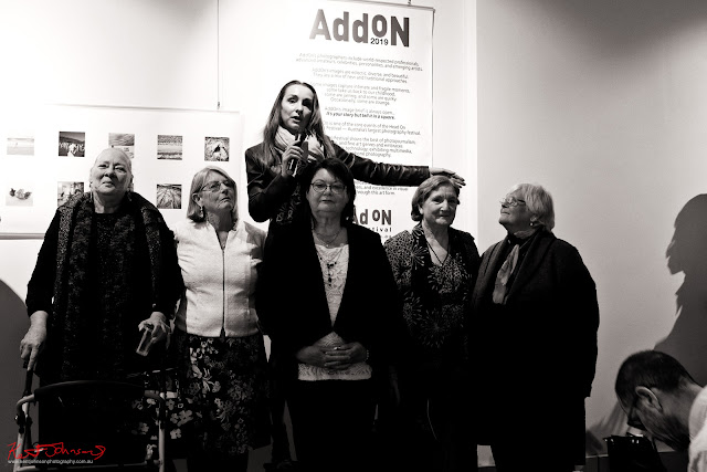 TAKEN at 541 Artspace - survivors of child abuse with BELINDA MASON from Blur Projects (Australia). Photo by Kent Johnson for Street Fashion Sydney.