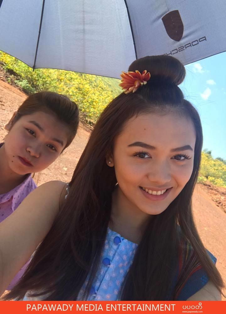 Shwe Mhone Yati Behind The Scenes Movie Shooting