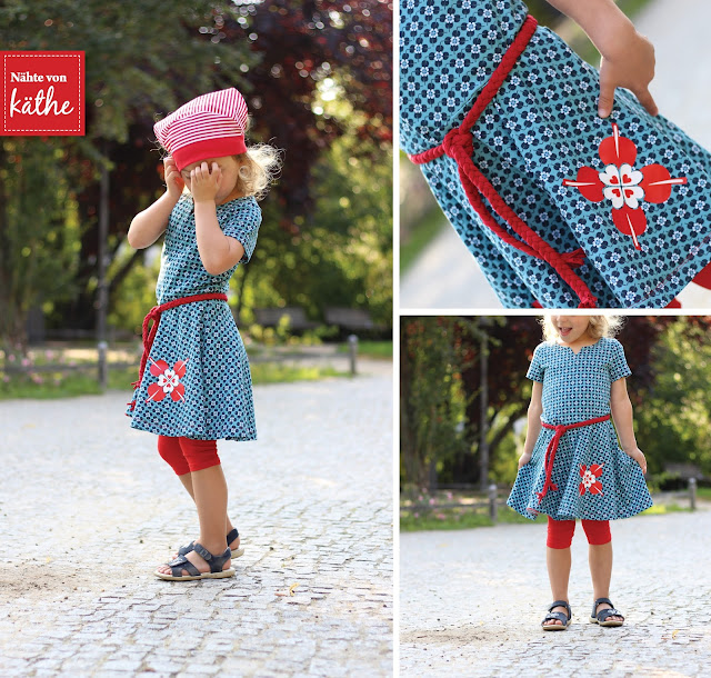 Kleid Nurita von Bienvenido Colorido, Woodland Hearts, Swafing, Autumn Flowers