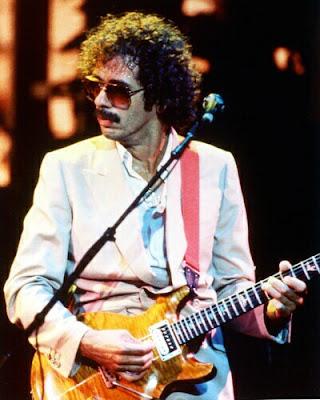 Foto de Carlos Santana en el escenario