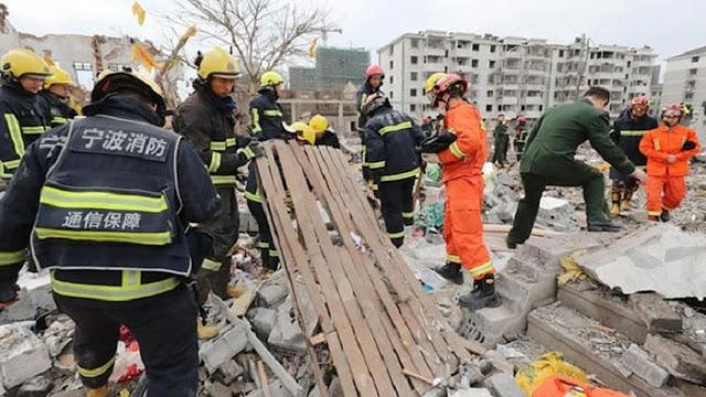 2 Orang Tewas Saat Ledakan Besar Menguncang China