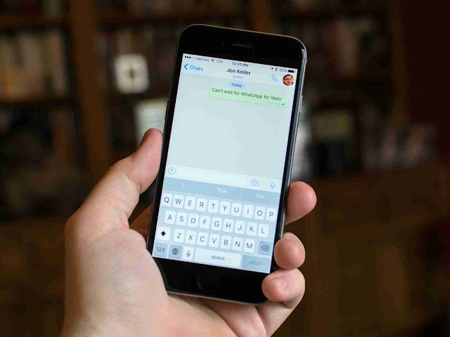 WhatsApp Update For iPhone XS Max