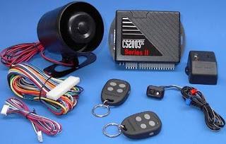 Système d'alarme pour voiture