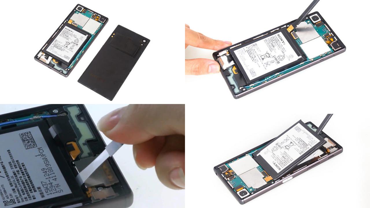 Cara Membuka Casing Belakang Dan Mengganti Baterai Sony Xperia Z5 Back Cover Z3 Tutup Battre Setelah Terbuka Silahkan Ganti Dengan Yang Baru Tes Nyala Pasang Kembali Semua Seperti Semula