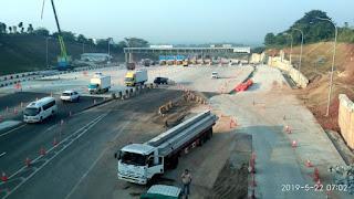 Penampakan Gerbang Tol Kalihurip Utama Sehari Menjelang Ditutupnya GT Cikarang Utama