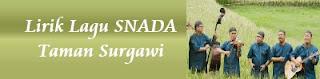 Lirik Lagu SNADA - Taman Surgawi