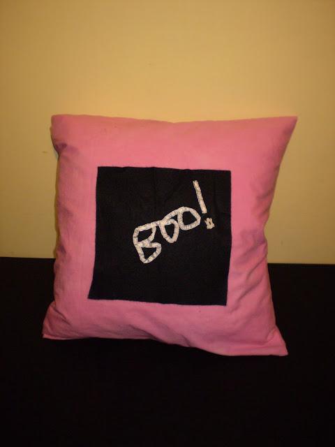 My Boo Cushion