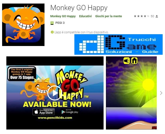 Soluzioni Monkey GO Happy di tutti i livelli | Walkthrough guide