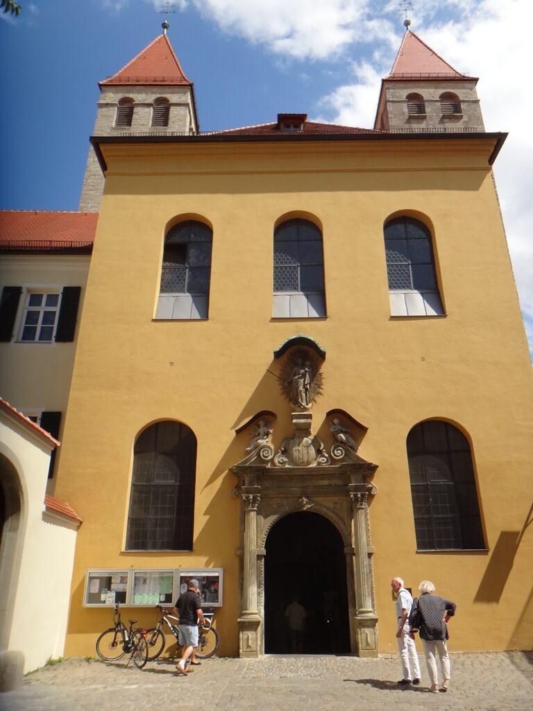 Abadia de Niedermünster em Regensburg Alemanha