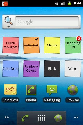 Free APK Android Apps: ColorNote Notepad Notes v3 6 6
