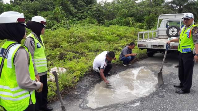 Polres Aceh Singkil, Gelar Razia Giat Rutin Bulan Tertib Berlalu lintas