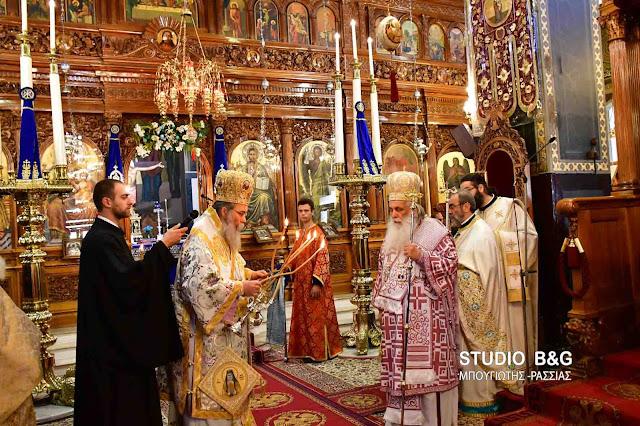 Δισαρχιερατική θεία λειτουργία στον Άγιο Πέτρο Άργους (βίντεο)