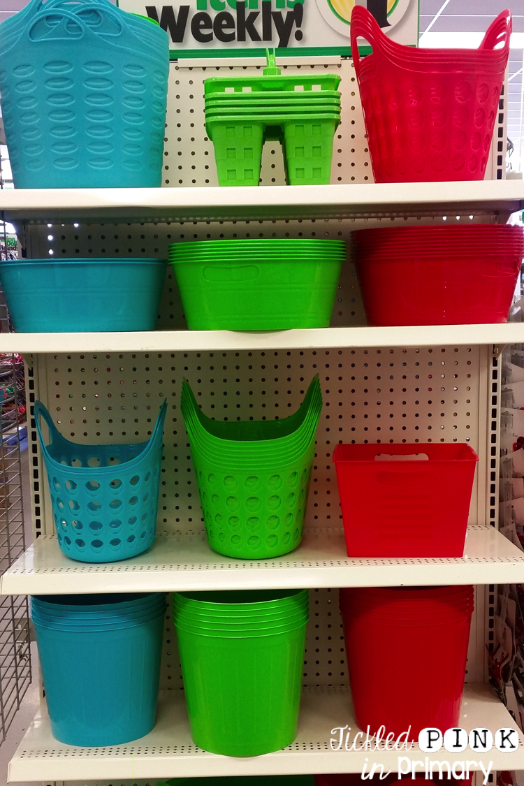 20 Dollar Tree Finds For All Teachers • Tickled Pink in Primary