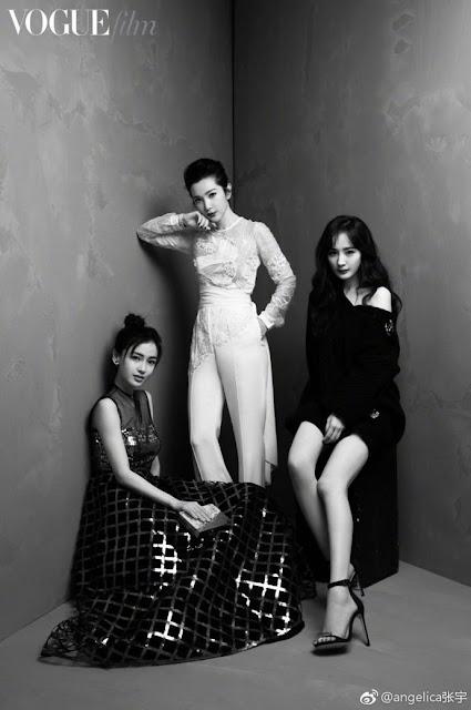 Yang Mi, Angelababy, Li Bingbing