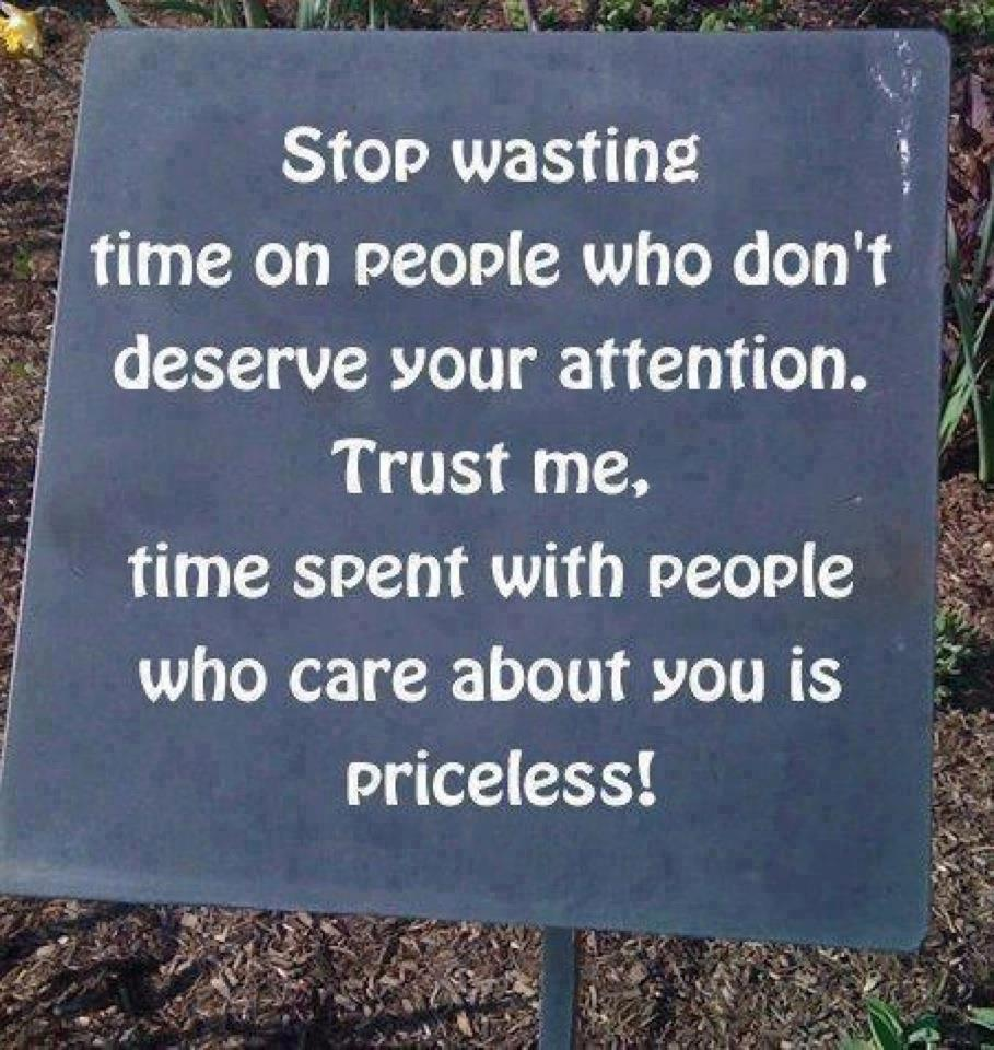 Stop Wasting Time Quotes: Random Musings: Stop Wasting Time On