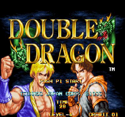 街機:格鬥雙截龍,DOUBLE DRAGON精典格鬥遊戲!
