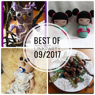 best of Amigurumi-Love-Linkparty #09/2017