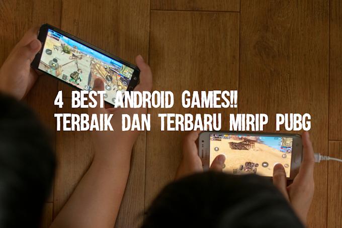 4 Best Android Games Terbaik dan Terbaru Mirip PUBG OFFLINE - ONLINE 2019