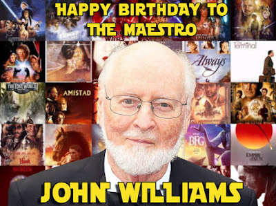 happy birthday john williams