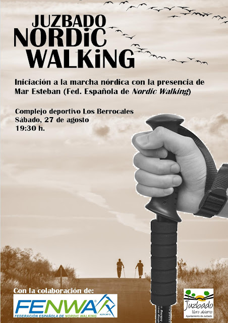Juzbado nordic walking marcha nórdica