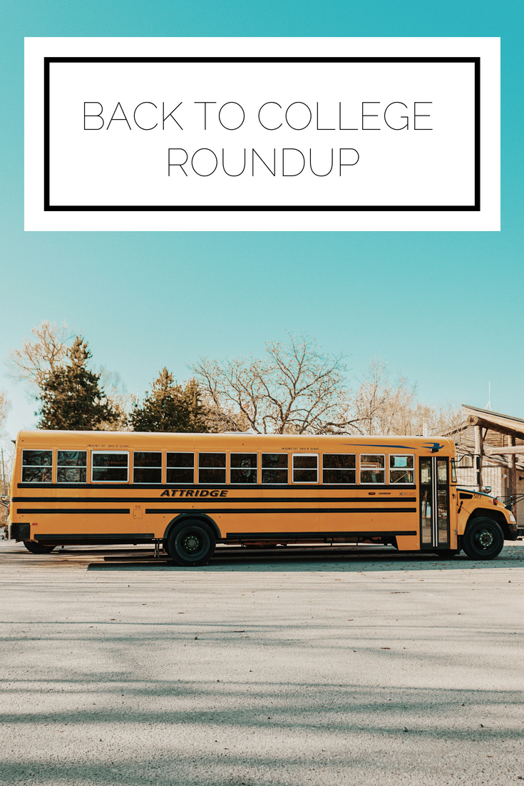 Click to read now or pin to save for later! Headed back to college? Here's a roundup of the best college posts from the blog to help you prepare