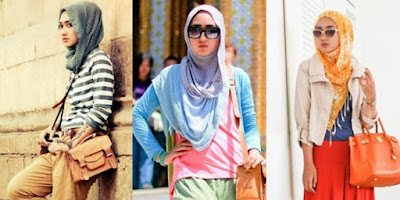 Fashion Wanita Berjilbab