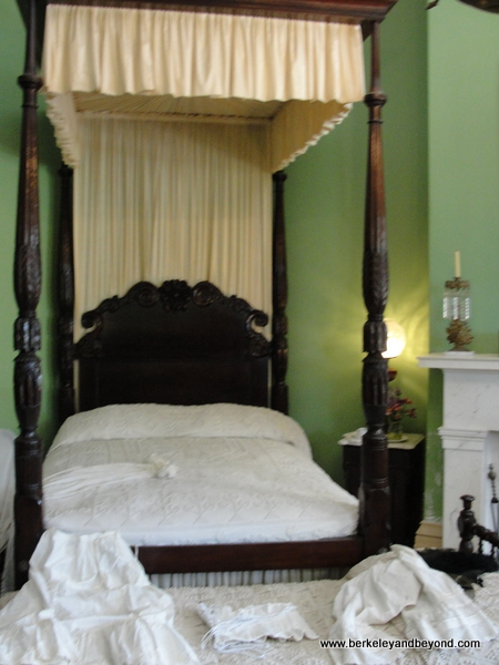 bedroom at Destrehan Plantation in Destrehan, Louisiana