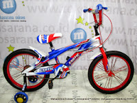 Sepeda Anak Exotic 9990 Super Bicycle 16 Inci