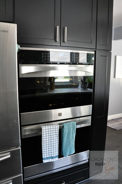Built-in double convection oven :: OrganizingMadeFun.com