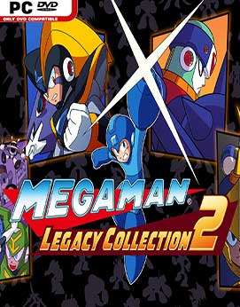 Mega Man X Legacy Collection 2 Jogos Torrent Download capa