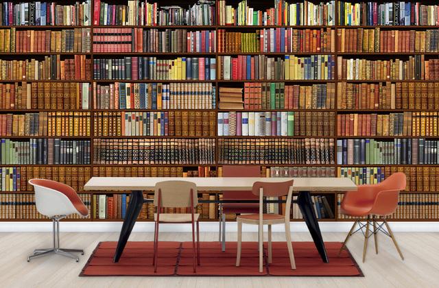 Kirjahylly Tapetti Tapettikirja Kirjat