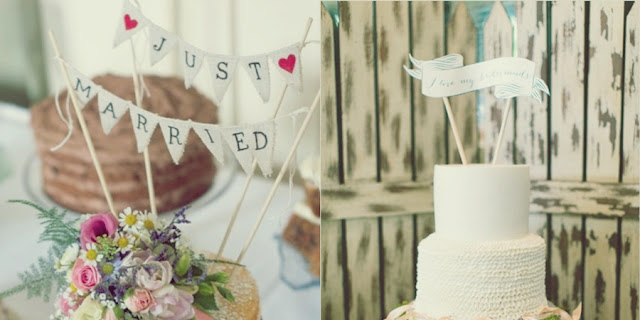 diy topo de bolo casamento