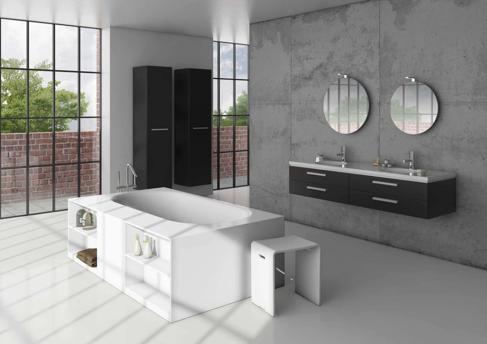 Side street style: modern bathroom inspiration
