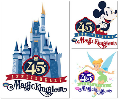 Magic Kingdom 45th anniversary artwork