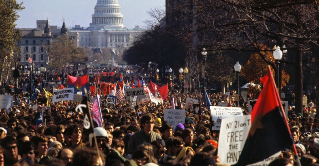 30 Color Photographs of Anti-Vietnam War Protests in the U ...