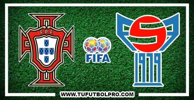 Ver Portugal vs Islas Feroe EN VIVO Por Internet Hoy 31 de Agosto 2017