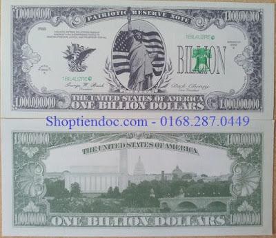 Tiền 1 tỷ usd