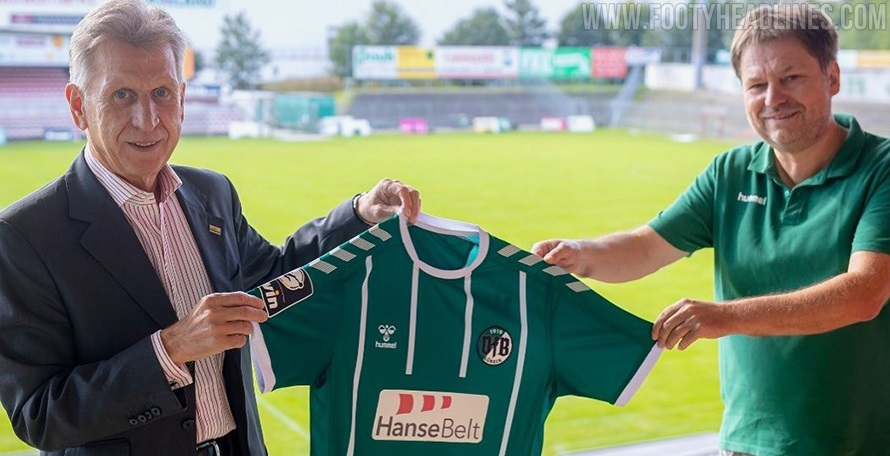 Vfb Lubeck 20 21 3 Liga Home Kit Released Footy Headlines