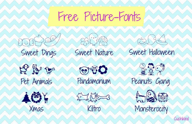 Free picture-fonts