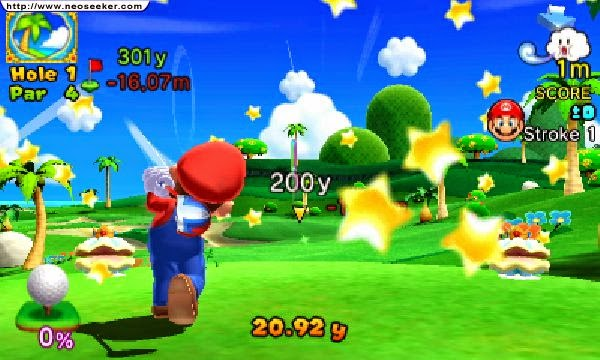3DS Mario Golf World Tour Screenshot