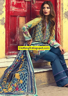 Zara Shahjahan Silk Collection Winter 2016-2017