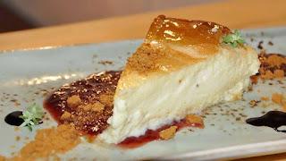 Tarta de queso. La Niña Bonita. Sevilla
