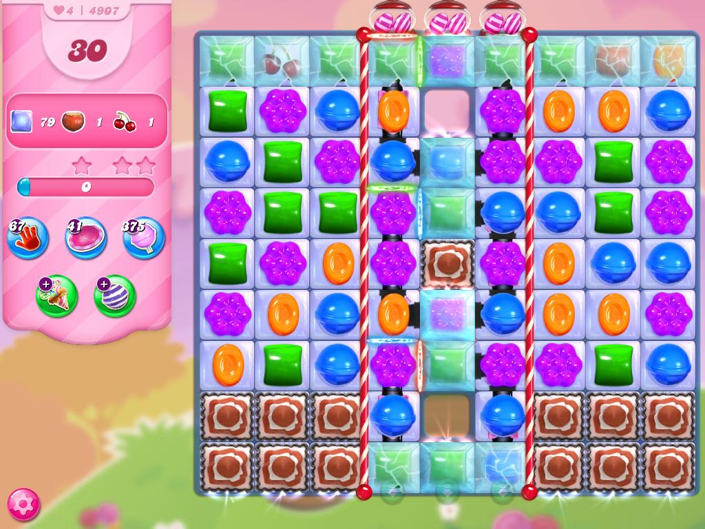Candy Crush Saga level 4907
