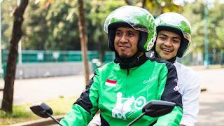Angkutan/kendaraan umum di kota Medan - Gojek online, grabbike, goride