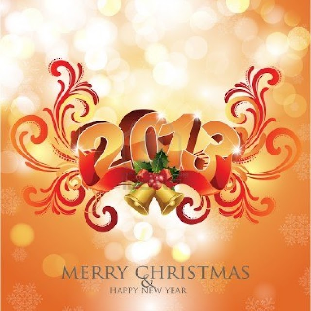 Merry Christmas & Happy New Year Cards Free