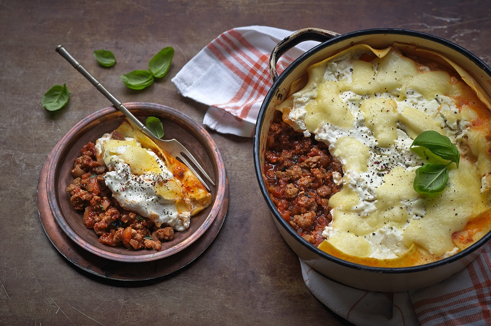 Quick And Easy Meat Free One Pot Lasagne
