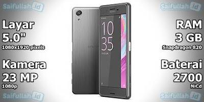 Sony Xperia X Performance - Spesifikasi Lengkap Smartphone
