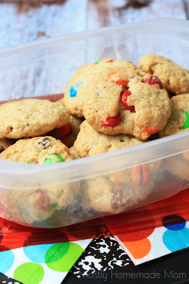 Lunch Box Monster Cookie Recipe