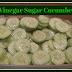 Vinegar & Sugar Cucumbers