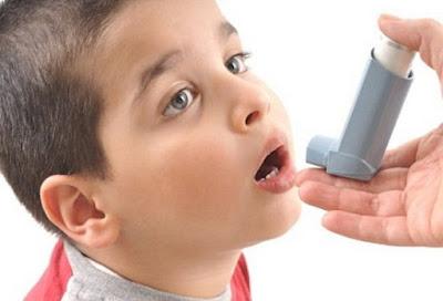 Cara mengobati penyakit asma pada anak anak